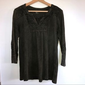 Tops - Cute Green Tunic (size small)